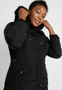 Evans - TAB SIDE PADDED COAT - Manteau court - black - 3