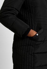 Evans - TAB SIDE PADDED COAT - Manteau court - black - 5