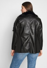 Evans - JACKET - Faux leather jacket - black - 2
