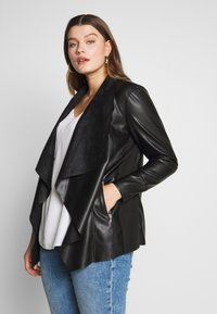 Evans - JACKET - Faux leather jacket - black - 3