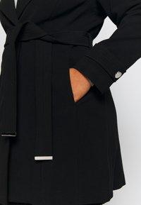 Evans - BELTED COAT - Manteau classique - black - 5