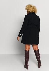 Evans - BELTED COAT - Manteau classique - black - 2