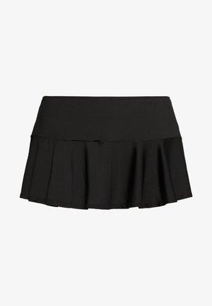 SWIMSKIRT - Bikini bottoms - black