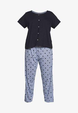 SPOT PANT SET - Pijama - blue
