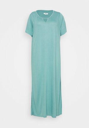 FLUTTER SLEEVE LONG NIGHTDRESS - Noční košile - sage green