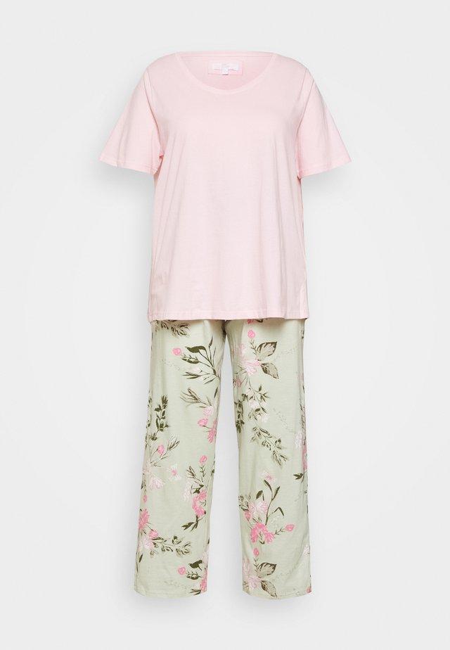 FLORAL PRINT SET - Piżama - pink