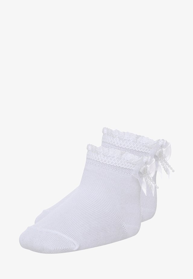 2 PACK - Chaussettes - weiss