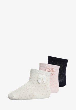 3 PACK - Sokken - white