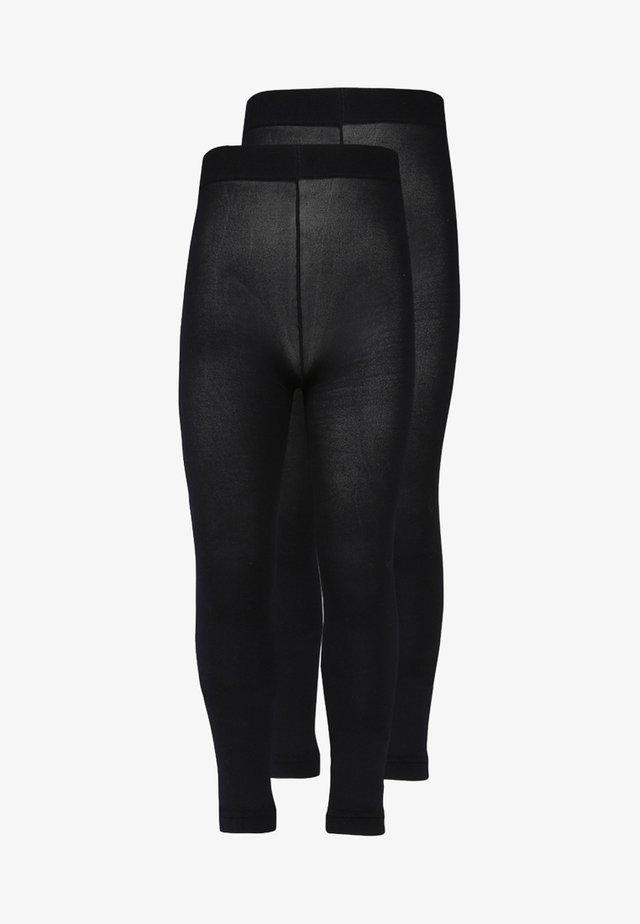 2 PACK - Leggings - Stockings - schwarz