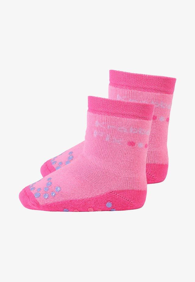 KRABBELFIX 2 PACK - Ponožky - phlox