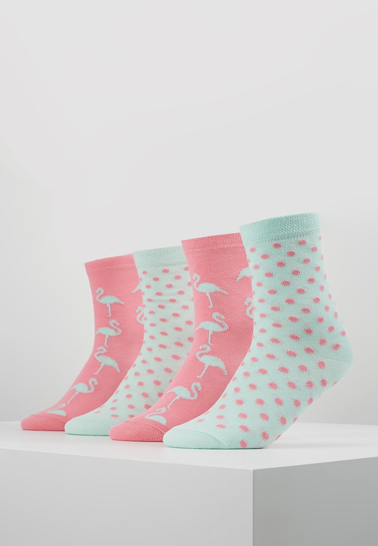 Ewers - 4 PACK - Socken - china pink