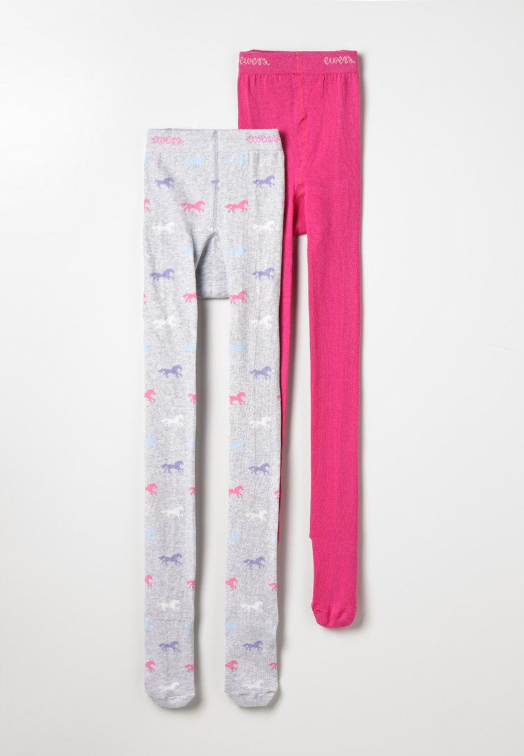 Ewers - PFERDE 2 PACK - Medias - pink/grau
