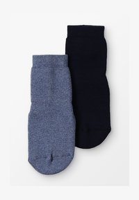 Ewers - STOPPERSOCKE 2 PACK - Sokken - jeans/marine - 2
