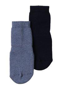 Ewers - STOPPERSOCKE 2 PACK - Sokken - jeans/marine - 0
