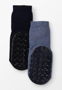 Ewers - STOPPERSOCKE 2 PACK - Sokken - jeans/marine - 1