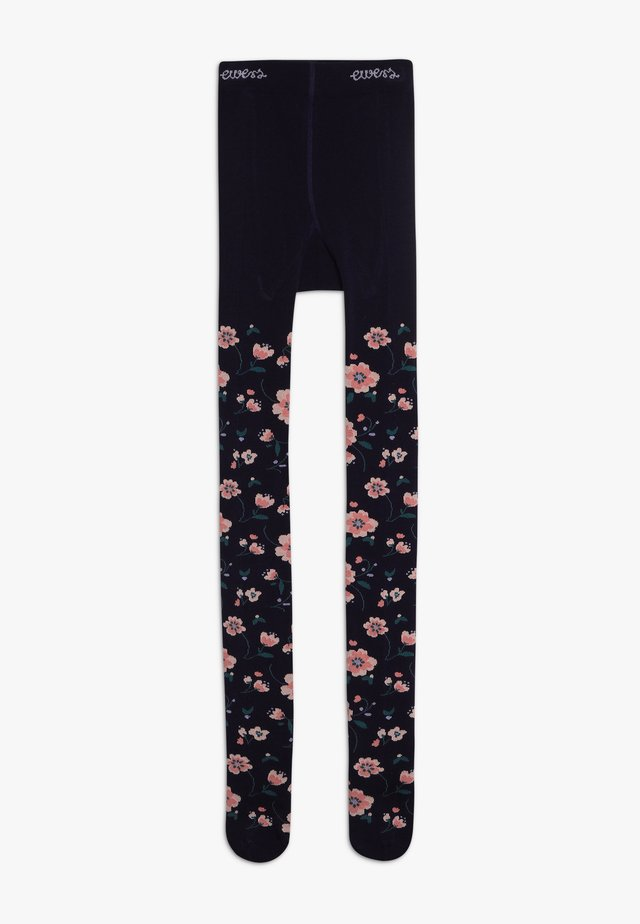BLUMEN - Tights - navy
