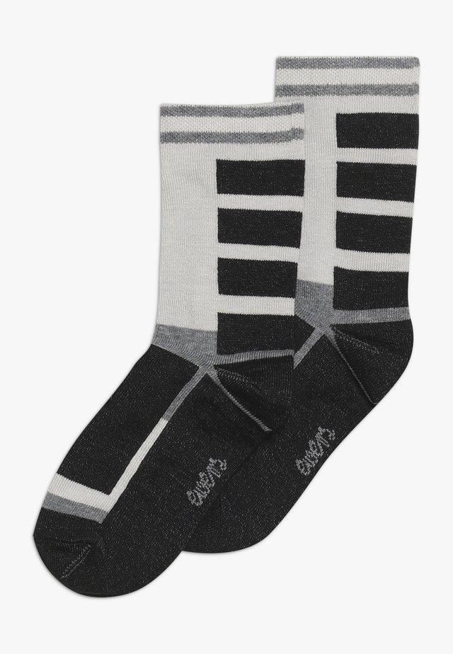 THERMOLITE 2 PACK - Socks - anthrazit meliert