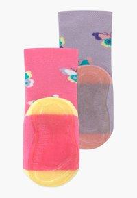 Ewers - SOFTSTEP SCHMETTERLINGE 2 PACK - Ponožky - flieder/pink - 1