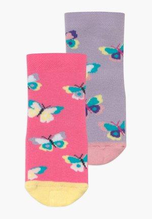 SOFTSTEP SCHMETTERLINGE 2 PACK - Ponožky - flieder/pink