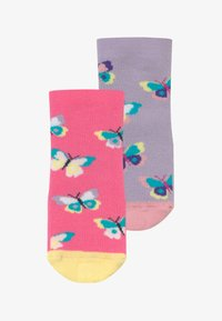 Ewers - SOFTSTEP SCHMETTERLINGE 2 PACK - Ponožky - flieder/pink - 2