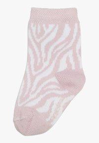 Ewers - ZEBRA 4 PACK  - Sokken - grau/rosa - 1