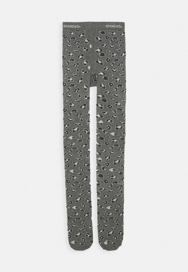 LEOPARD PRINT TIGHTS - Tights - grey