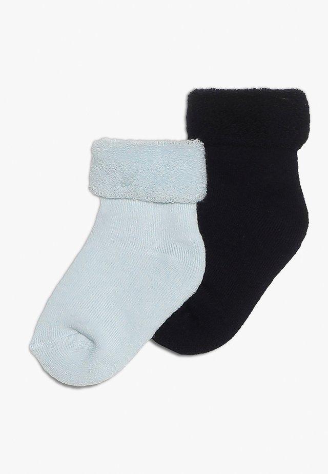 2 PACK - Ponožky - marine/hellbleu