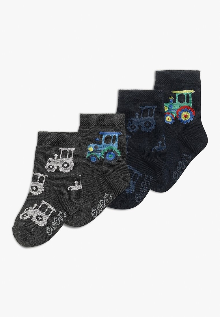Ewers - TRECKER 4 PACK - Socken - tinte/anthrazit