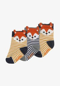 Ewers - 3 PACK - Chaussettes - tinte/curry - 2