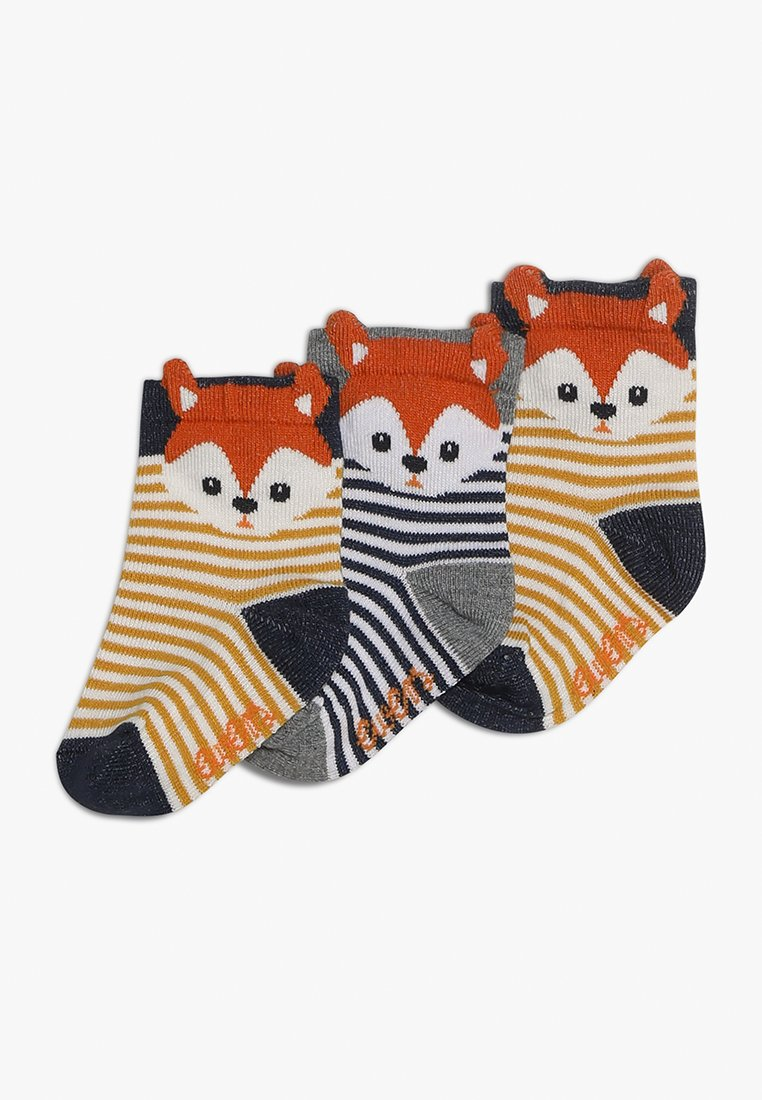 Ewers - 3 PACK - Chaussettes - tinte/curry