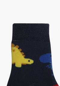 Ewers - BABY DINOS 3 PACK - Chaussettes - tinte/grau - 3
