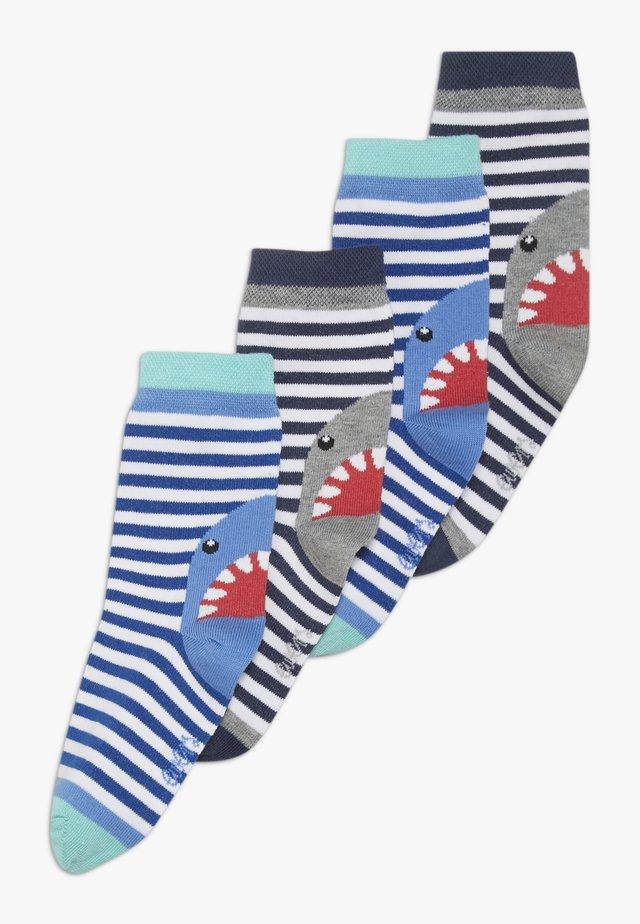 HAI 4 PACK  - Ponožky - ultramarin/tinte