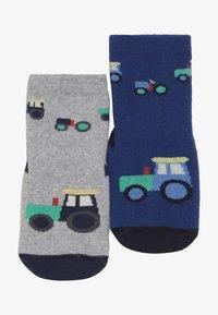 Ewers - SOFTSTEP TRECKER 2 PACK  - Ponožky - ultramarin/grau - 4