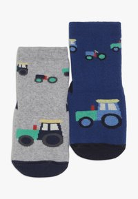 Ewers - SOFTSTEP TRECKER 2 PACK  - Ponožky - ultramarin/grau - 0