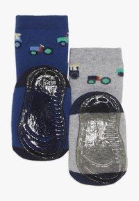 Ewers - SOFTSTEP TRECKER 2 PACK  - Ponožky - ultramarin/grau - 1