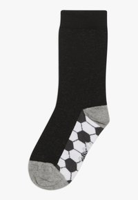 Ewers - FUSSBALL RINGEL 6 PACK  - Ponožky - schwarz/tinte - 1