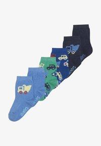 Ewers - FAHRZEUGE LASTER 6 PACK - Sokken - grün/blau - 2