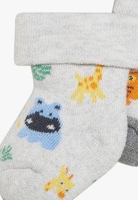 Ewers - NEWBORN ZOOTIERE 6 PACK  - Ponožky - tinte/grau - 3
