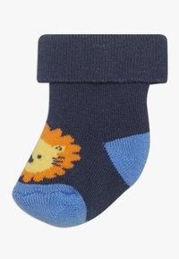Ewers - NEWBORN ZOOTIERE 6 PACK  - Ponožky - tinte/grau - 1