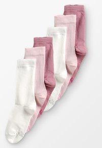 Ewers - 6 PACK - Ponožky - latte/cremé/wildrose - 0