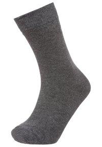 Ewers - 6 PACK - Ponožky - black/anthrazit melange/grau melange - 1