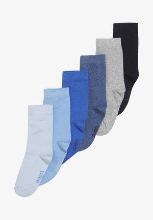 6 PACK - Chaussettes - blau/jeans/grau
