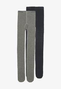 Ewers - 2 PACK - Punčocháče - grey/marine - 0