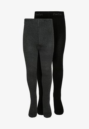 2 PACK - Collants - schwarz/anthrazit