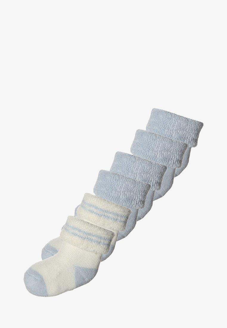 Ewers - 6 PACK - Sokken - hellblau/offwhite