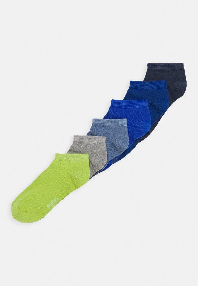 SNEAKER UNI 6 PACK - Calcetines - blue