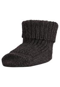 Ewers - 2 PACK - Ponožky - anthrazit/latte - 1