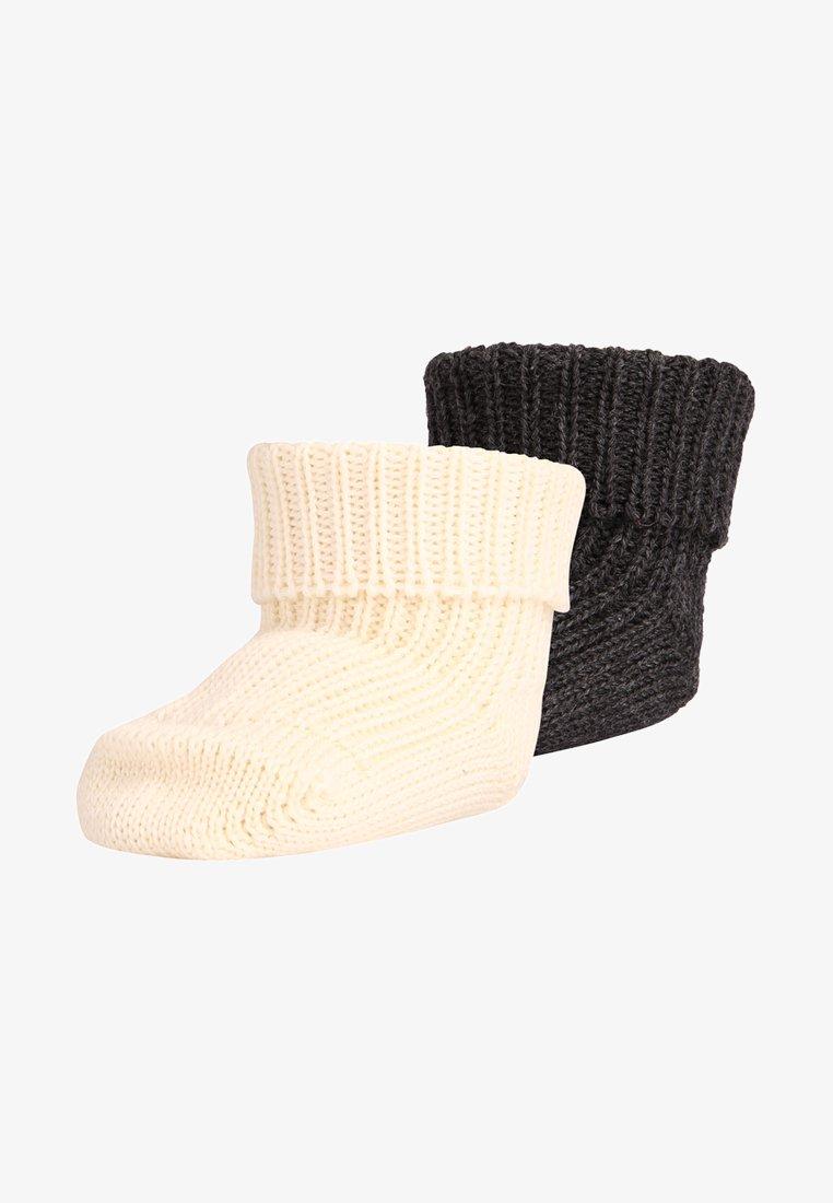 Ewers - 2 PACK - Ponožky - anthrazit/latte
