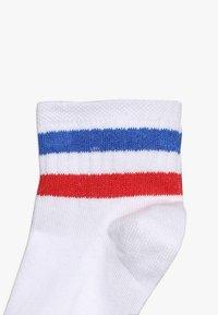 Ewers - SNEAKER 3 PACK - Socks - rot/blau/schwarz - 3