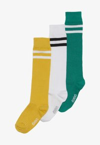 Ewers - KINDERKNIESTRUMPF 3 PACK - Polvisukat - grün/gelb/weiß - 4